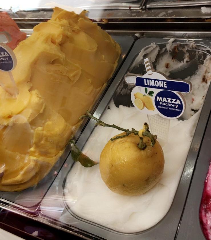 Uno Piccolo Cono Limone Gelato